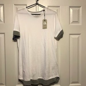 Jack and Jones white t-shirt